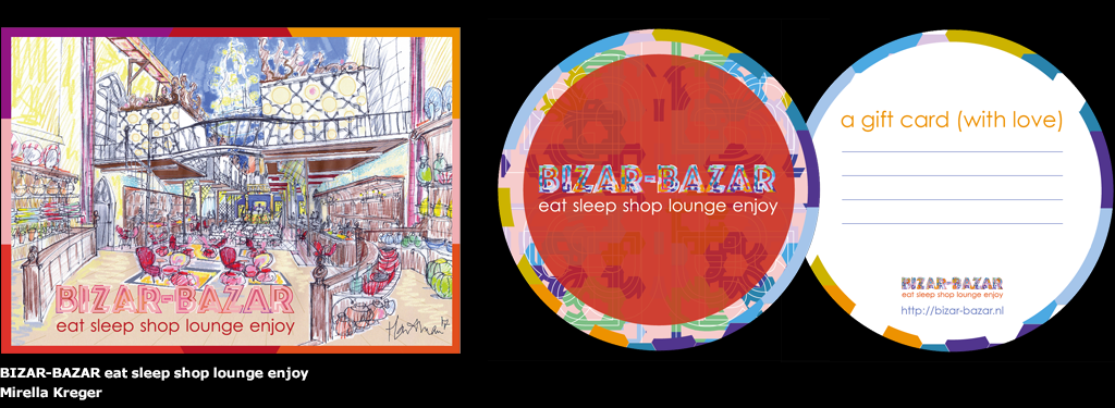 Bizar-Bazar eat sleep shop lounge enjoy